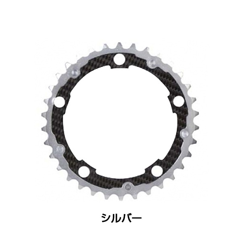 Carbon Ti(カーボンTi) Carbon Ti(カーボンTi) X-RING ROAD110/34T インナー[ギヤ板][クランク・チェーンホイール]