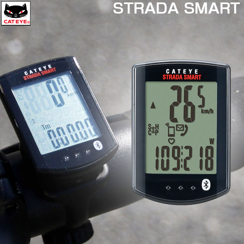CATEYE(キャットアイ) STRADA SMART (ストラーダスマート) スピード+ケイデンスキット CC-RD500B[サイクルメーター・コンピューター][ケイデンス機能付き][ワイヤレス]