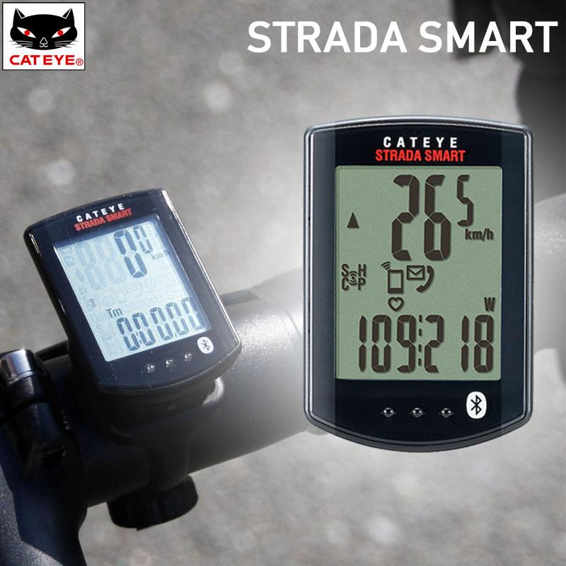 《即納》【土日祝もあす楽】CATEYE(キャットアイ) STRADA SMART (ストラーダスマート) トリプルワイヤレスキット CC-RD500B[サイクルメーター・コンピューター][ケイデンス機能付き][ワイヤレス]