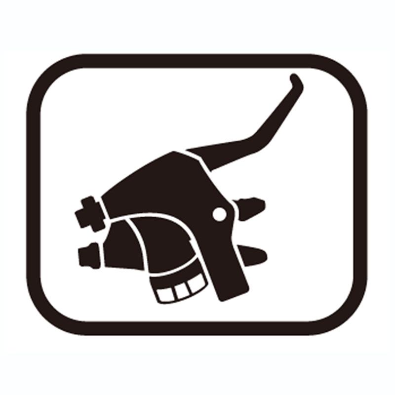 SHIMANO(シマノ) スモールパーツ・補修部品 ブラケット(左用) Y6RT98150[CS(普及グレード)][シマノスモールパーツ]