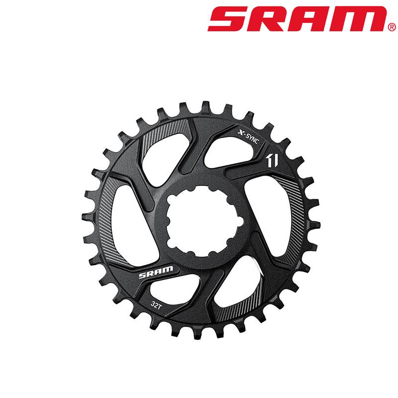 SRAM(スラム)パーツ&メンテナンス MTB 1x用 X-SYNC DMチェーンリング ブラック[ギヤ板][クランク・チェーンホイール]
