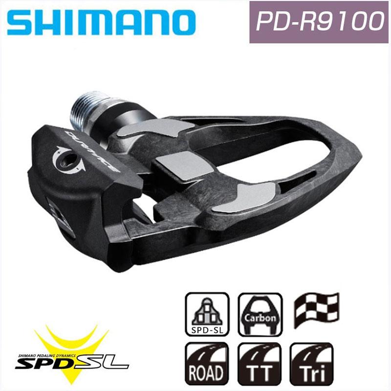 SHIMANO DURA-ACE(シマノ デュラエース) PD-R9100 SPD-SL IPDR9100[ビンディングペダル][パーツ・アクセサリ]
