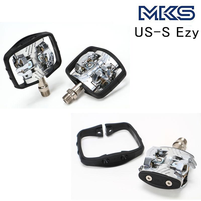 MKS(三ヶ島ペタル) US-S Ezy [ペダル] [ビンディングペダル] [MTB] [クロスバイク]