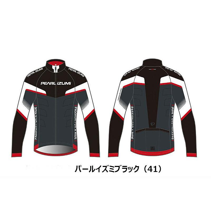 PEARL IZUMI(パールイズミ) 2016年秋冬モデル Print Jersey (プリントジャージ) 2サイズワイド B3455-BL[長袖(秋冬)][ジャージ・トップス]