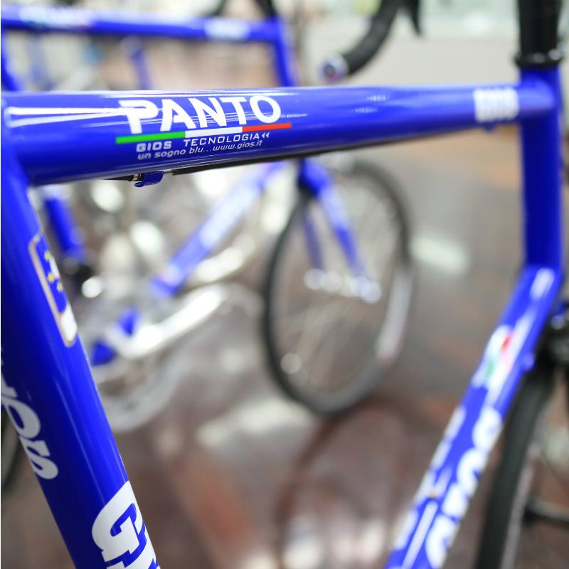 GIOS(二秃)2017年型号PANTO(抛球凌空踢法)[坡球座][minibero/折叠自行车]