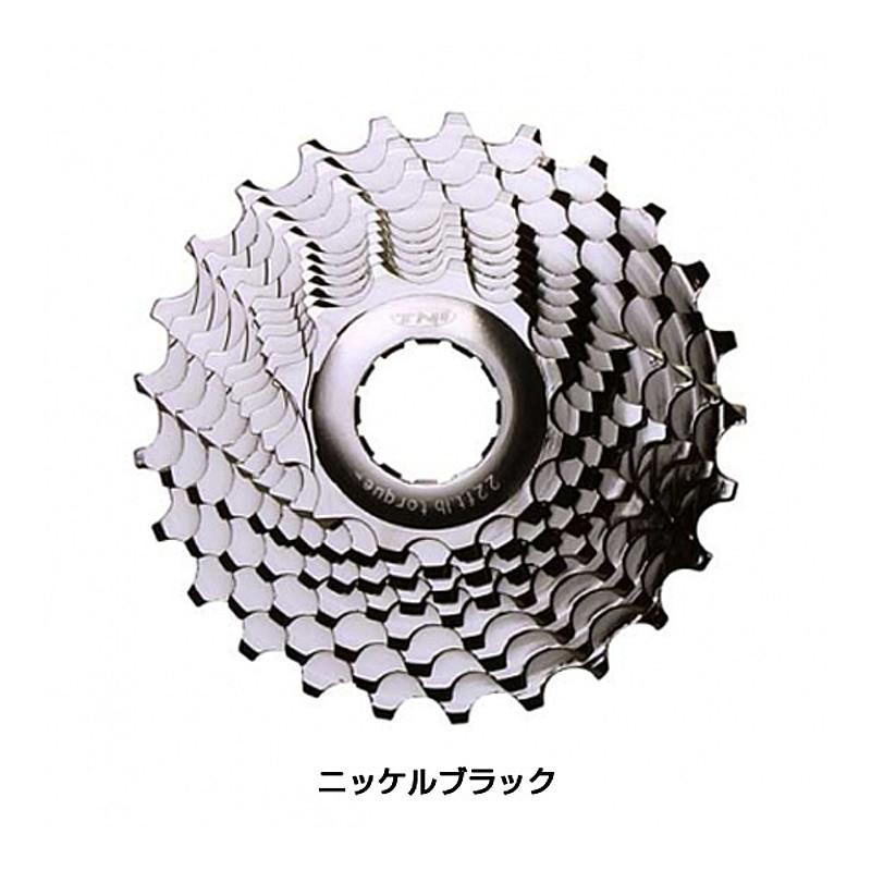 TNI(ティーエヌアイ) アルミコグニッケルブラック [パーツ] [ロードバイク] [スプロケット]