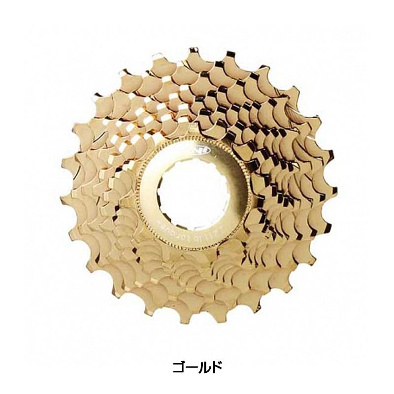 TNI(ティーエヌアイ) アルミコグ カンパ10s ゴールド[ロードバイク用][スプロケット]