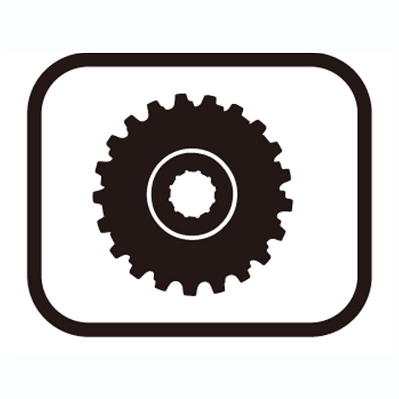 SHIMANO(シマノ) スモールパーツ・補修部品 11Tギア(ツバ付ギア) Y1YT11000[CS(普及グレード)][シマノスモールパーツ]