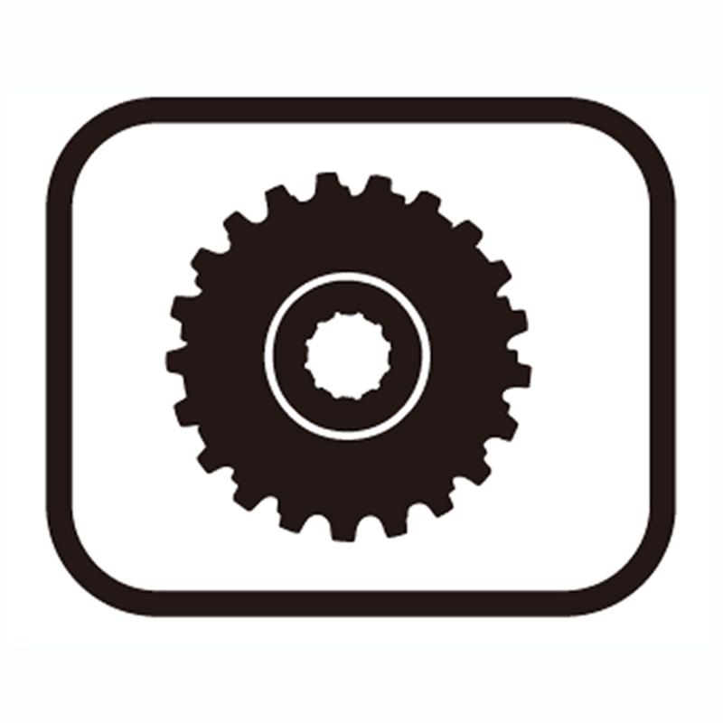 SHIMANO(シマノ) スモールパーツ・補修部品 ギアユニット(21-24-27T) Y1YZ98120[CS(普及グレード)][シマノスモールパーツ]