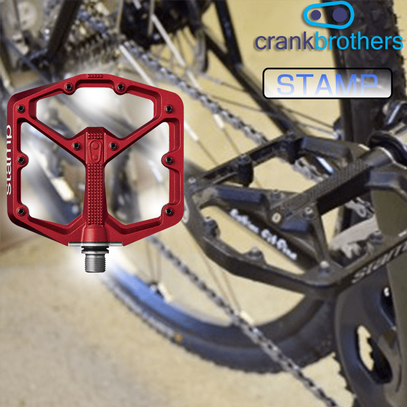 crankbrothers(クランクブラザーズ) STAMP(スタンプ)スモール マウンテンバイク(MTB)用ペダル[フラットペダル][パーツ・アクセサリ]