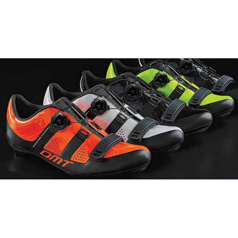 DMT(ディーエムティー) R1イエロー/フロー/ブラック SPD-SLビンディングシューズ [ロードバイク用][サイクルシューズ]