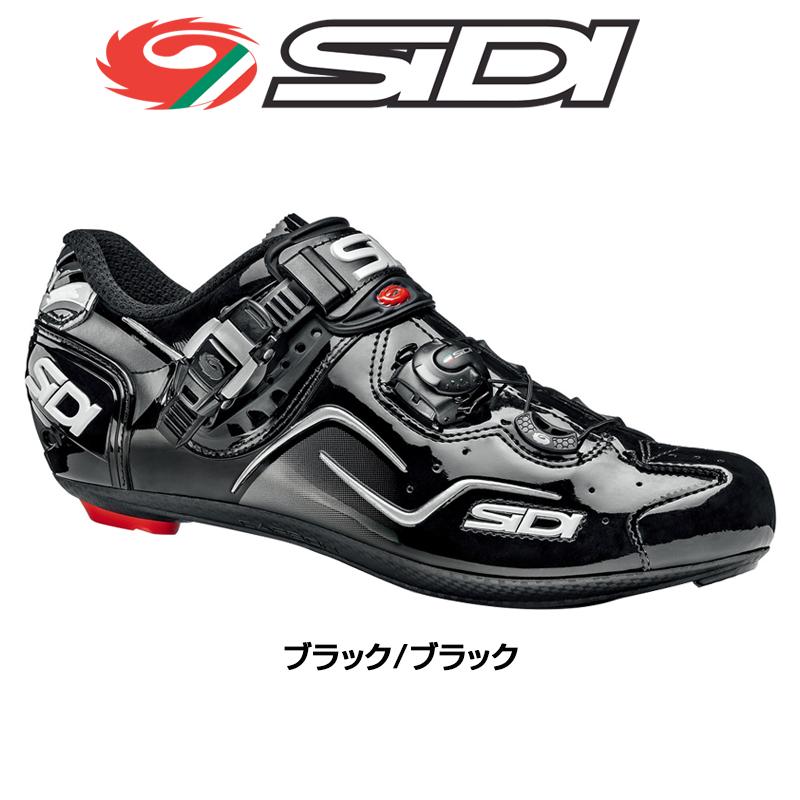 《即納》【あす楽】SIDI(シディ) 2018年モデル KAOS (カオス ブラック/ブラック) SPD-SLビンディングシューズ [ロードバイク用][サイクルシューズ]