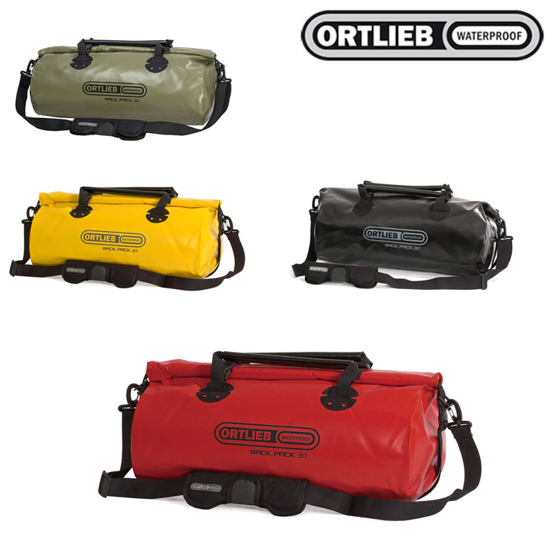 ORTLIEB(オルトリーブ) ラックパック M[トランジション・遠征用バッグ][身につける・持ち歩く][自転車バッグ]