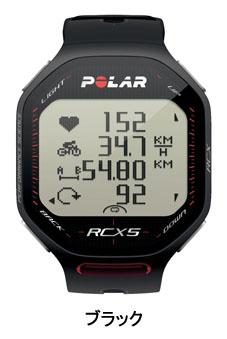 POLAR(ポラールメーター) RCX5[サイクルメーター・コンピューター][ベーシック機能][ワイヤレス]