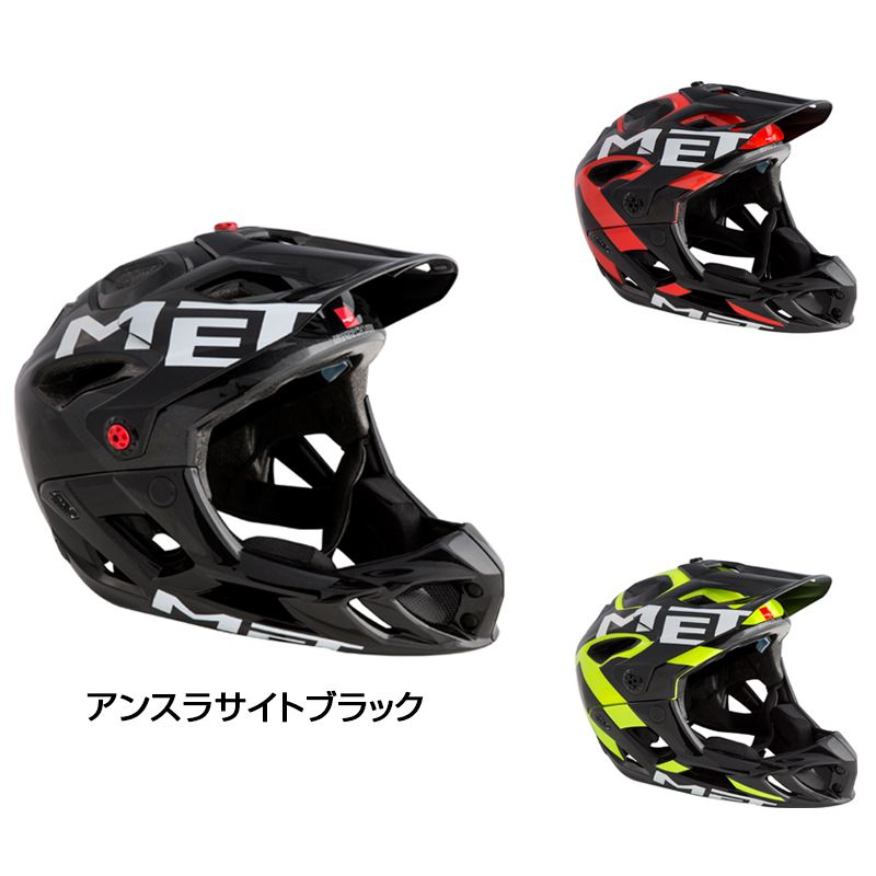 MET(メット) 2019年モデル PARACHUTE (パラシュート)HES [エクストリーム用]