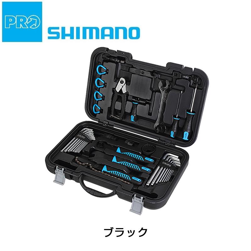 SHIMANO PRO(シマノプロ) TOOL BOX (ツールボックス) ハードケース付 ロードバイクのメンテナンスに必須の工具がセットに