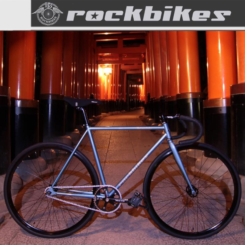 《在庫あり》ROCKBIKES(ロックバイクス) MELANCHOLY (メランコリー)[ホリゾンタル][スチールフレーム]
