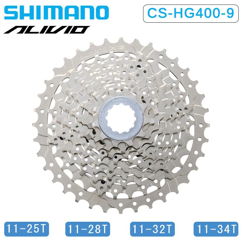 Shimano Hg400 9-speed 11-25t Casete Componentes Y Piezas