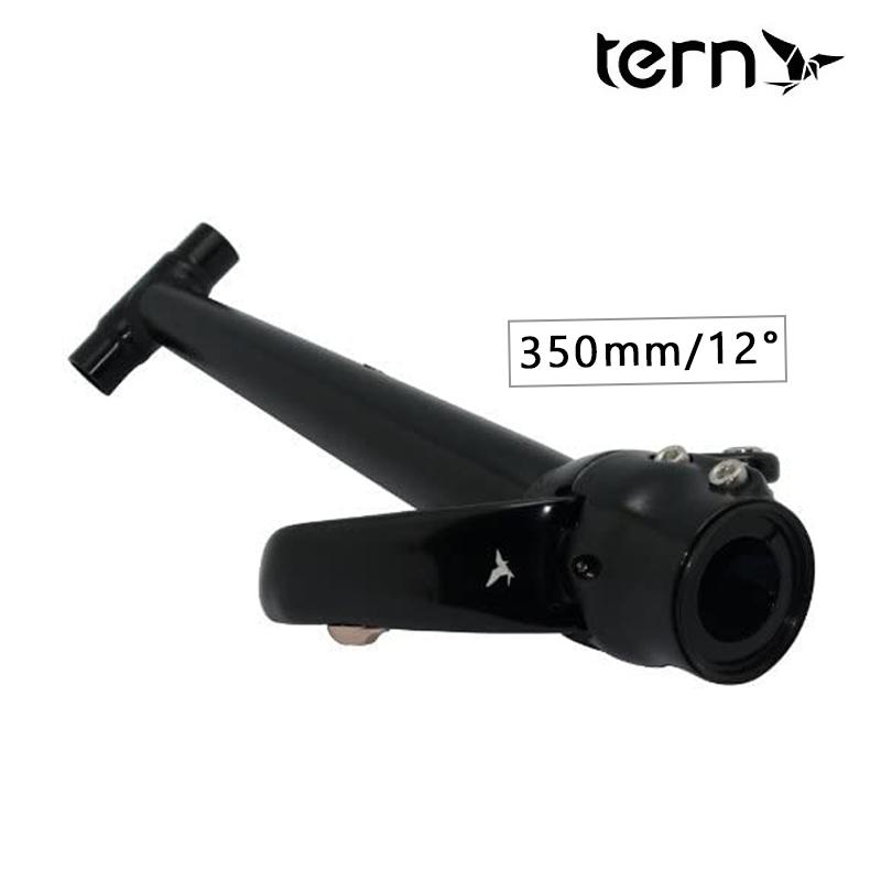 《即納》【土日祝もあす楽】TERN(ターン) PHYSIS 3D T-BAR (Tハンドルポスト)HANDLEPOST 12° ブラック[その他][パーツ・アクセサリ]