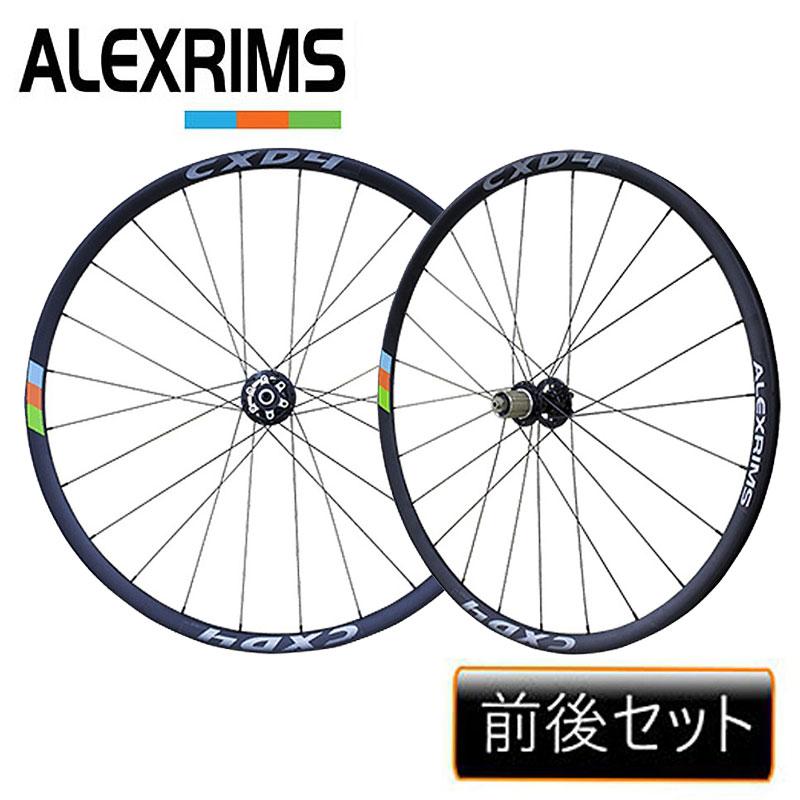 ALEXRIMS(アレックスリム) CXD4 700C ディスクロード F/R [ホイール] [ロードバイク] [ディスクブレーキ] [ディスクロード]