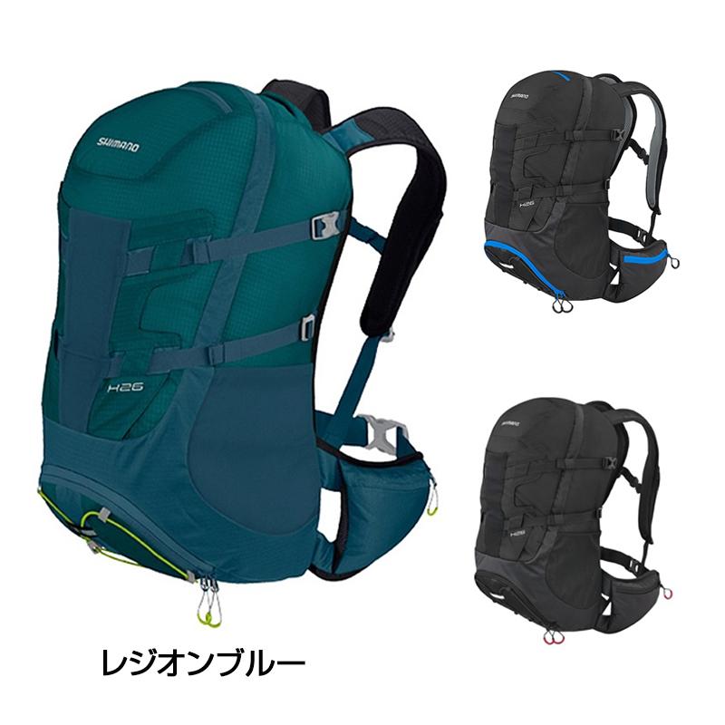 SHIMANO(シマノ) Hシリーズ H26 26L[バックパック][身につける・持ち歩く]