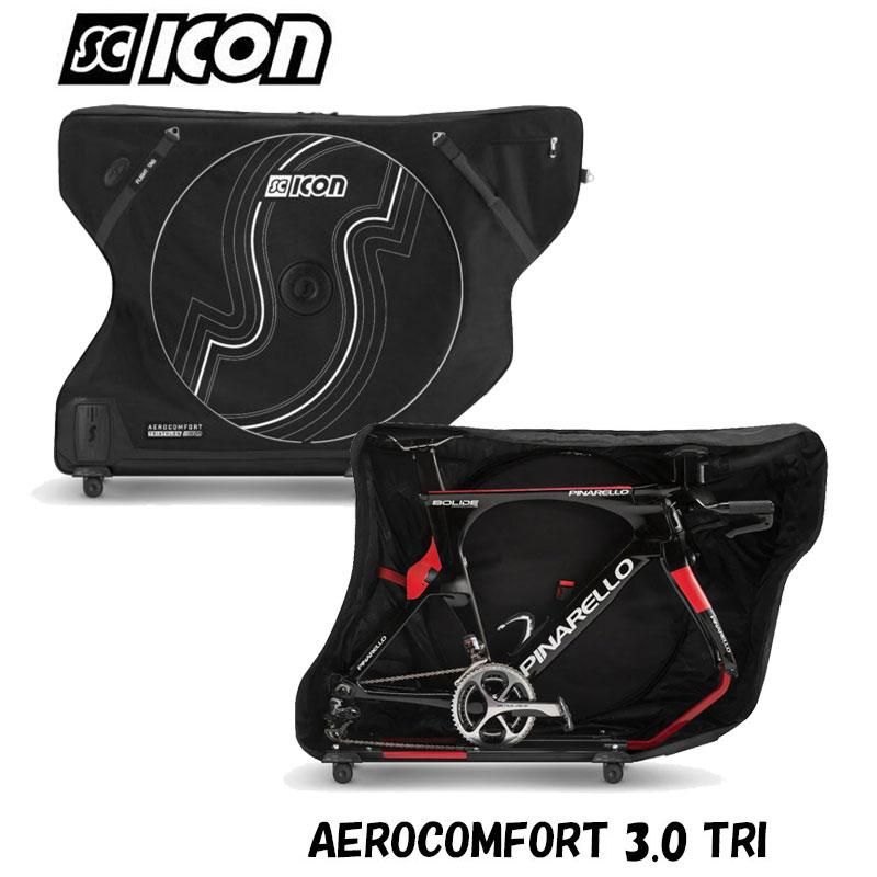 【トライアスロン用新型】SCICON(シーコン) AEROCOMFORT PLUS(エアロコンフォートプラス 3.0)トライアスロン 飛行機輪行に最適な輪行バッグ