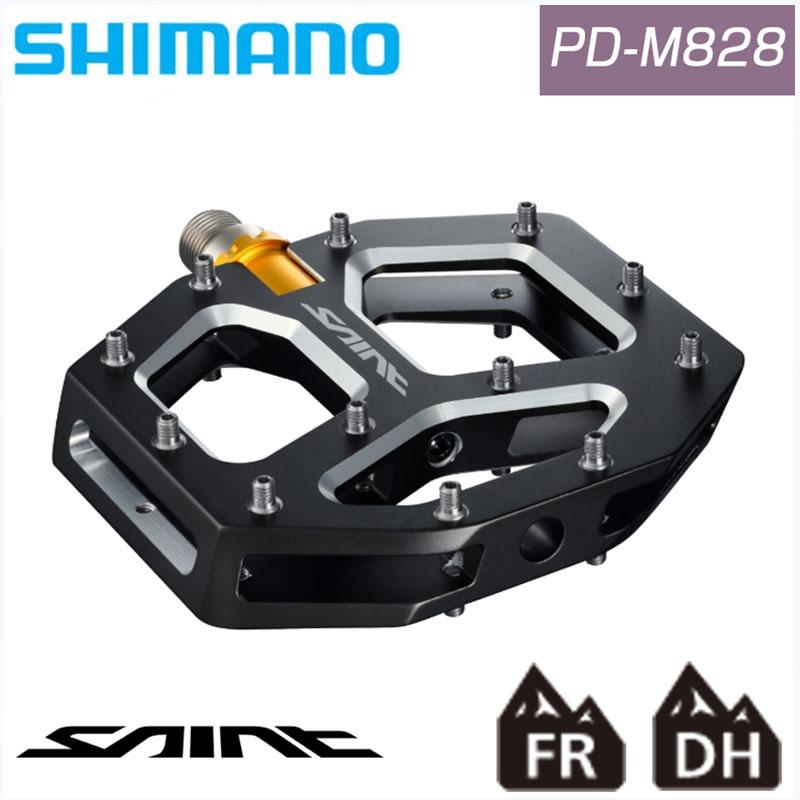 SHIMANO SAINT(シマノセイント) PD-M828 [ペダル] [フラットペダル] [クロスバイク] [MTB]