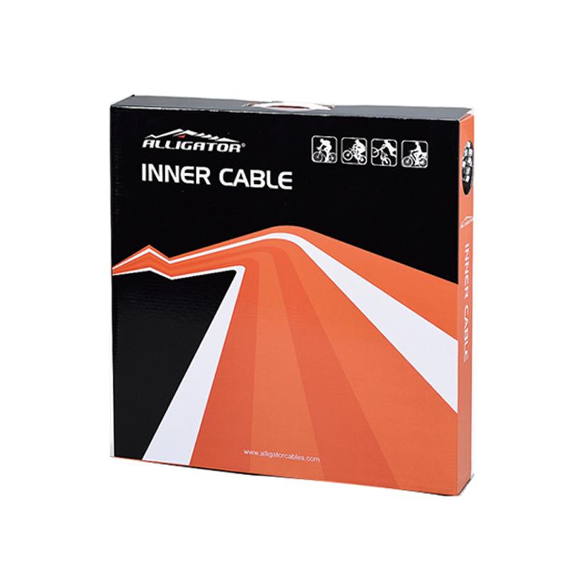 ALLIGATOR(アリゲーター) LY-SSTSK43520 シフトインナーBOX(シマノ用)スリックステンレス/100本[シフトワイヤー][消耗品・ワイヤー類]