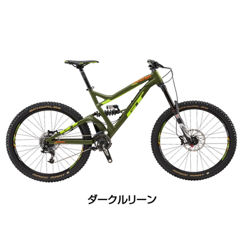 《在庫あり》GT(ジーティー) 2018年モデル SANCTION COMP (サンクション コンプ)[ダウンヒルバイク/DH][マウンテンバイク]