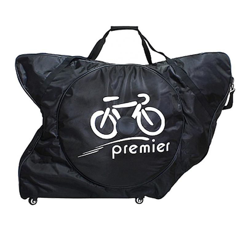 Premier(プレミア) BIKE CASE (バイクケース)ロードバイク用 飛行機輪行に最適な輪行バッグ[輸送用梱包ケース][輪行・トランスポート]