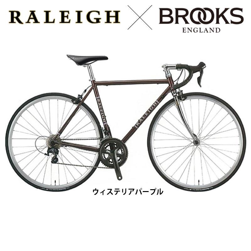 【BROOKSサドル バーテープ 限定カスタマイズ】Raleigh(ラレー) CARLTON-N (カールトンN)CRN