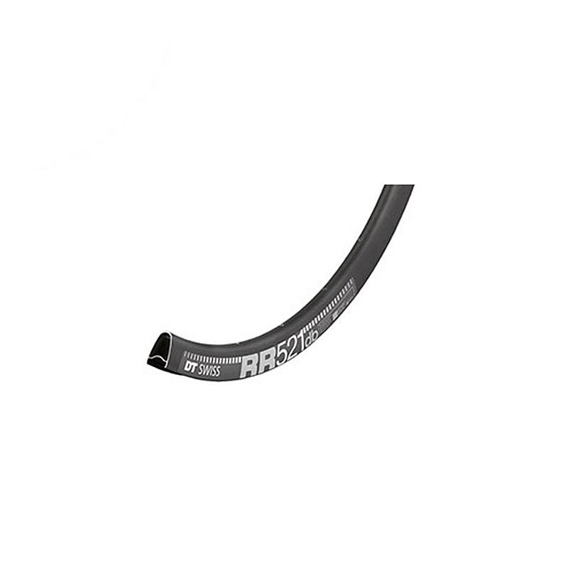DT SWISS(ディーティー・スイス) RR521 DB アシンメトリックリム700C ディスクブレーキ専用[リム][ロード用]
