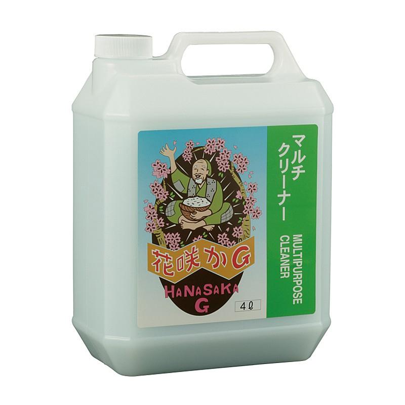 HaNaSaKa G(花咲かG) MULTI CLEANER (4 L) (マルチクリーナー4L)[ディグリーザー・クリーナー][ケミカル]