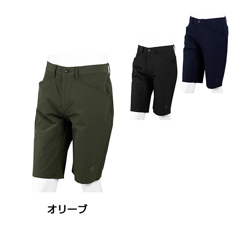 [カペルミュール] メンズ/ ストレッチハーフパンツ ネイビー kphp015 サイクリング レディース