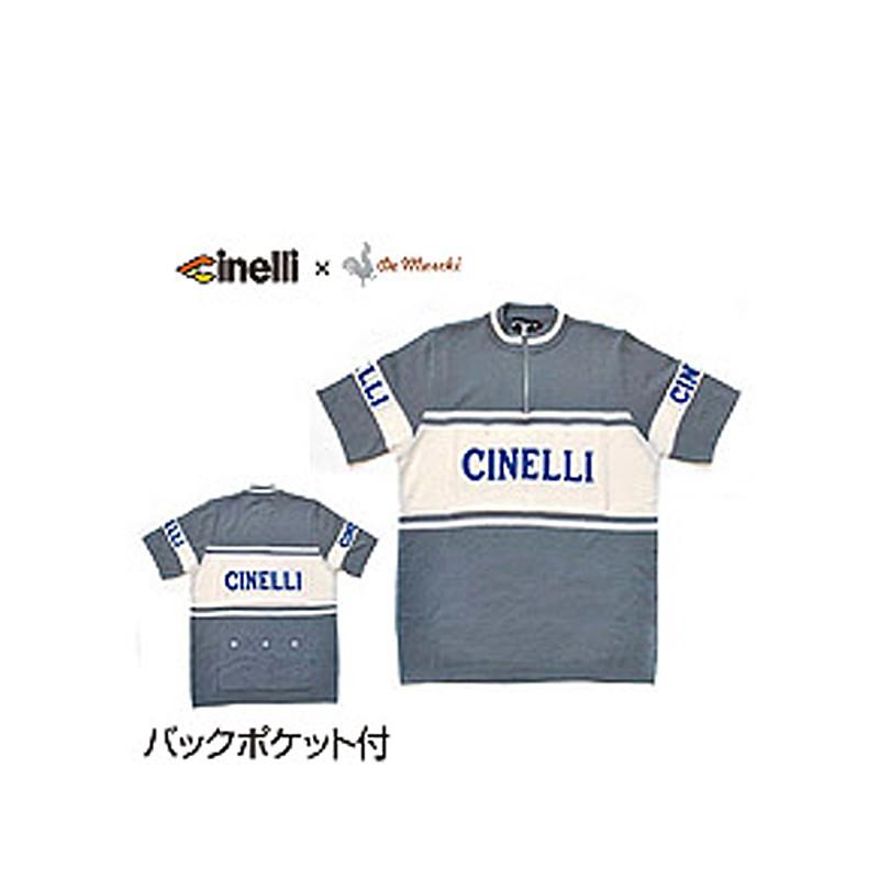 Cinelli(チネリ) CHINELLIxDEMARUKI S/S WOOL JERSEY (チネリxデマルキ S/Sウールジャージ)[トップス][春夏]