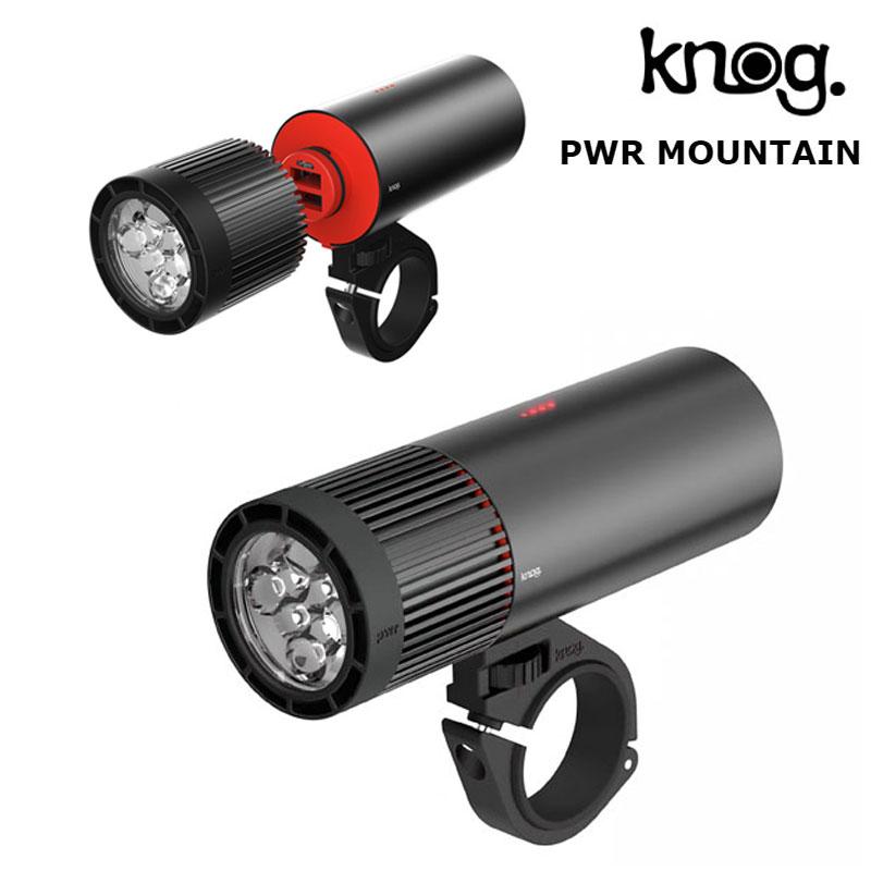 knog(ノグ) PWR MOUNTAIN (パワーマウンテン) 2000Lumens[USB充電式][ヘッドライト]