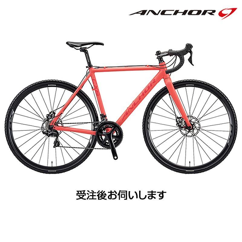 【携帯工具プレゼント】ANCHOR(アンカー) 2018年モデル CX6D EQUIPE[レーサー][シクロクロスバイク]