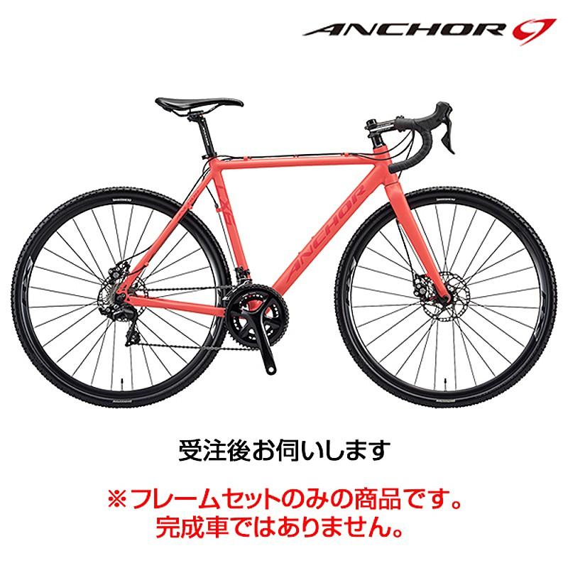 【携帯工具プレゼント】ANCHOR(アンカー) 2018年モデル CX6D EQUIPE (CX6Dエキップ) フレームセット[ロードバイク][フレーム・フォーク]