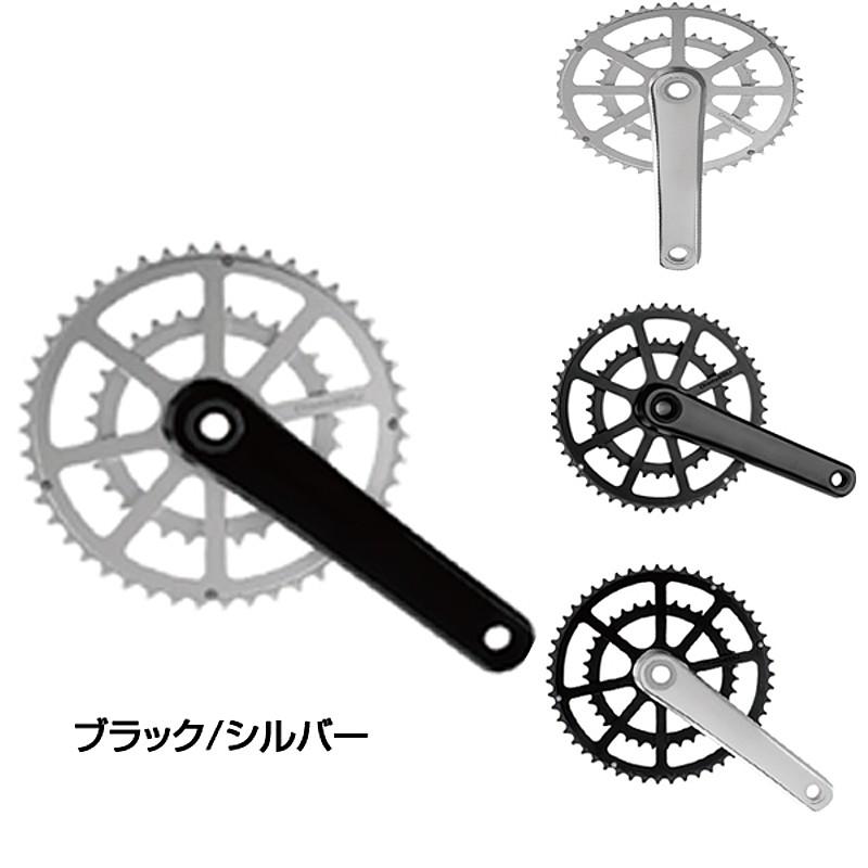 One by ESU(ワンバイエス) J.CRANK (ジェイ・クランク 51/35) BB別売[クランクセット][クランク・チェーンホイール]