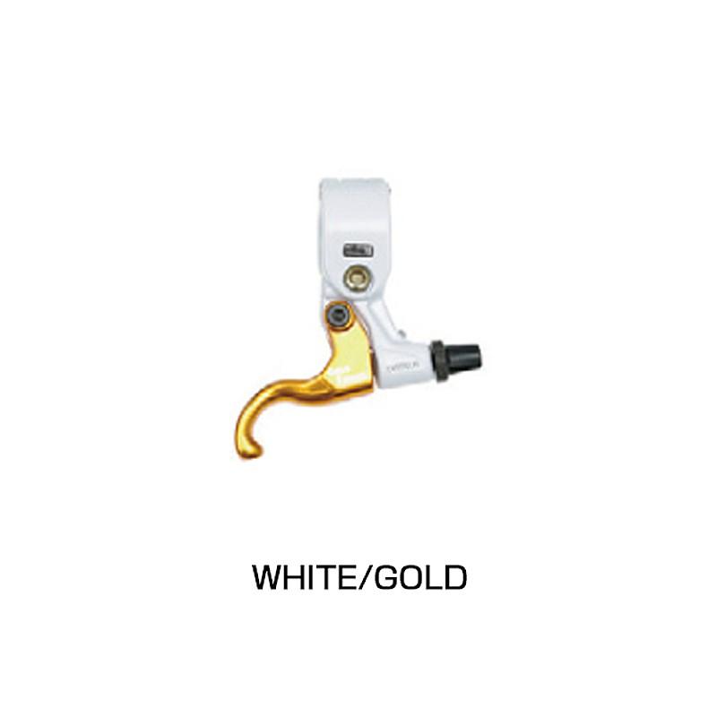 DIA-COMPE(ダイアコンペ) TECH99 GOLD FINGER (ゴールドフィンガー) PK/BK WH/BK WH/GO ペア[フラットバー用][ブレーキレバー]