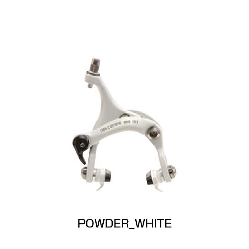 DIA-COMPE(ダイアコンペ) BRS101 キャリパーブレーキ PW/WH 前後セット[本体][ブレーキ]