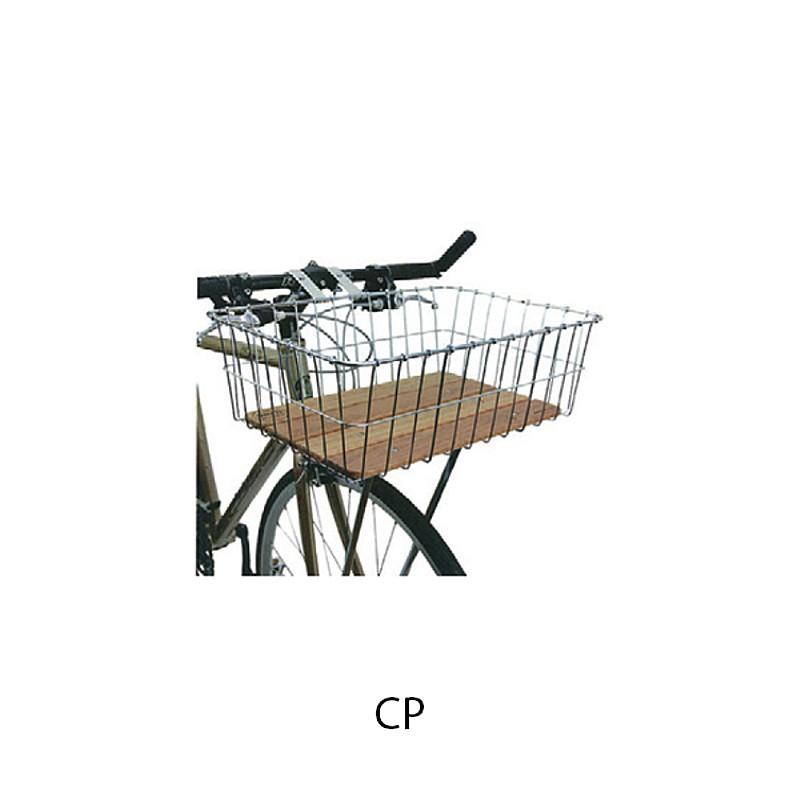 WALD(ウォルド) 139 バスケット ウッド CP[フロントバスケット][バスケット・カゴ]