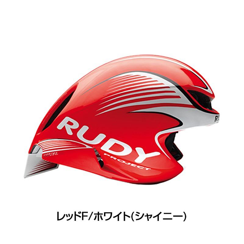 【先行予約受付中】Rudy Project (ルディプロジェクト) WING57 (ウィング57) レッドフルオ/ホワイト[一般][バイザー無し]