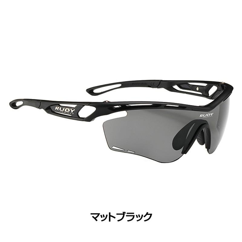 Rudy Project (ルディプロジェクト) TRALYX (トラリクス) レギュラー マットブラックフレーム [サングラス] [ロードバイク] [アイウェア]