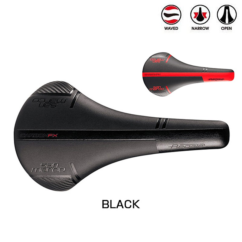 SELLE SAN MARCO(サンマルコ) REGALE CARBON FX WIDE (リーガルeカーボンFXワイド)[レーシング][サドル・シートポスト]