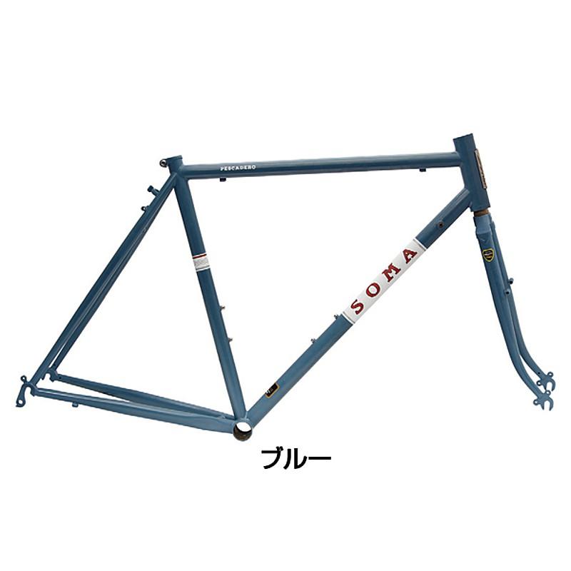 SOMA(ソーマ) PESCADERO (ペスカデロ)フレーム・フォークセット[ロードバイク][フレーム・フォーク]
