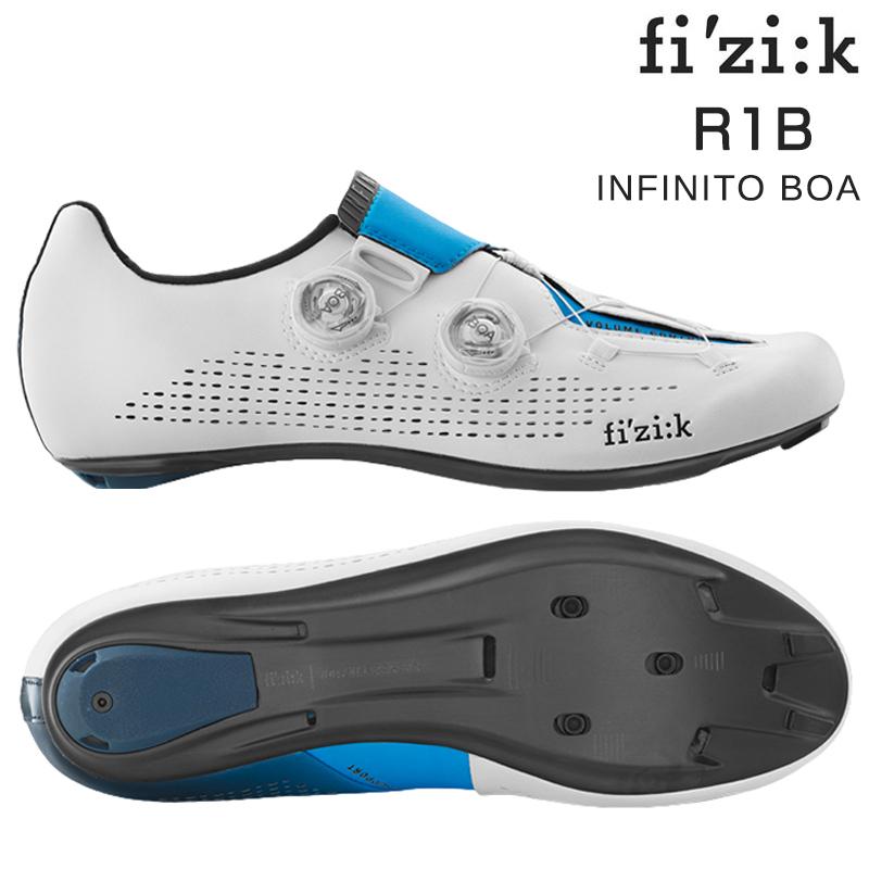 fizi:k(フィジーク) R1B INFINITO MOVISTAR TEAM (R1Bインフィニートモビスターチームモデル) SPD-SLビンディングシューズ [ロードバイク用][サイクルシューズ]