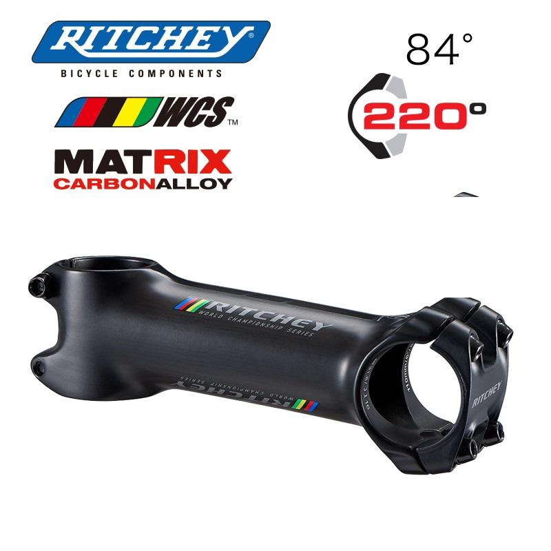 RITCHEY(リッチー) WCS CARBON C220 ステム クランプ径 (ハンドル31.8 コラム1-1/8