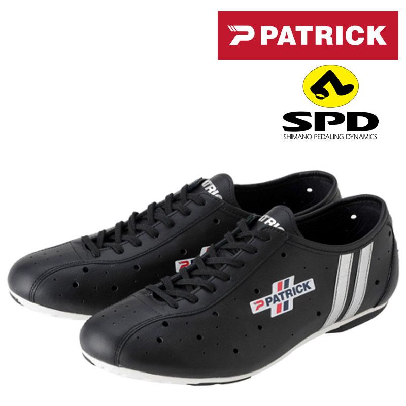 PATRICK(パトリック) POULIDOR SPD (プリドール SPDビンディングシューズ)カンガルー・レザー C1311[カジュアル・街乗り用][サイクルシューズ]