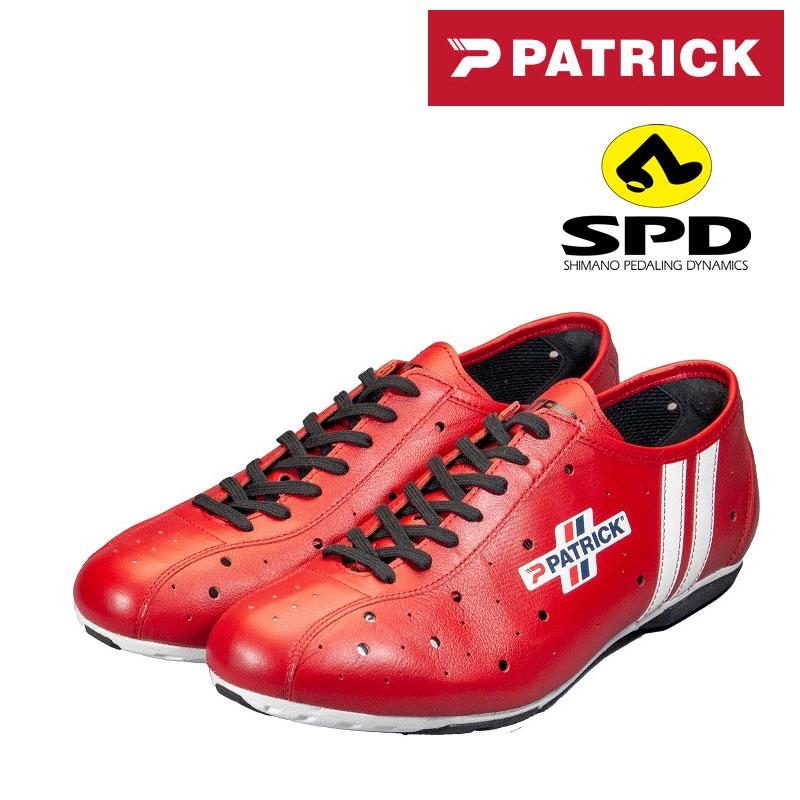 PATRICK(パトリック) POULIDOR SPD (プリドール SPDビンディングシューズ)カンガルー・レザー C1317[カジュアル・街乗り用][サイクルシューズ]